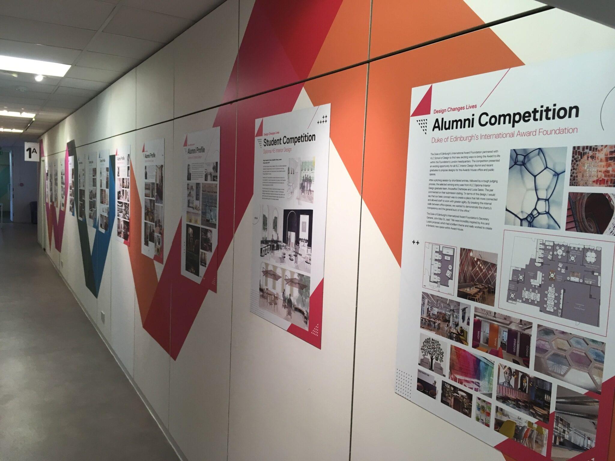 School Wall Art Graphic Display Solutions Amp Wayfinding