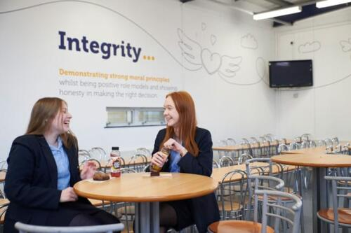 students with integrity wall stickers