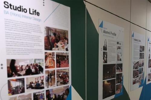 school projects corridor wall graphics