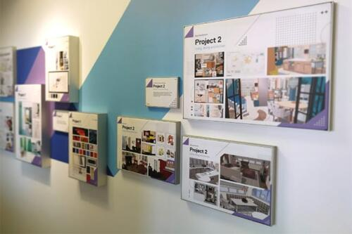 school projects 1-2 wall vinyl graphics