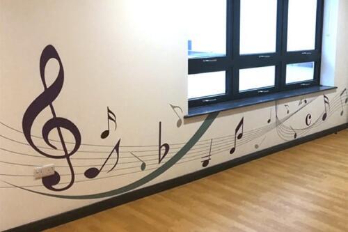 school signage design